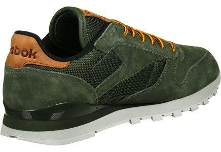 Reebok Classic Leather Ol, Zapatillas para Hombre oliva verde marrón