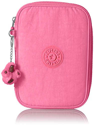 Kipling 100 Pens Pencil, Essential Everyday Case, Zip Closure, Conversation Heart Tonal ()