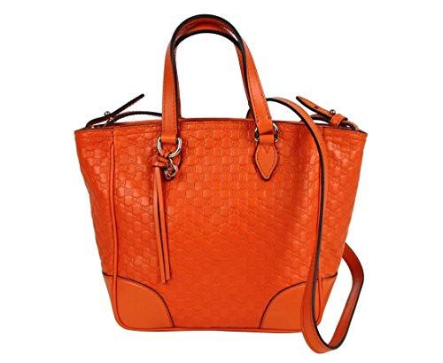 Gucci Women's Sun Orange Guccissima Leather Small Crossbody Bag 449241 7527