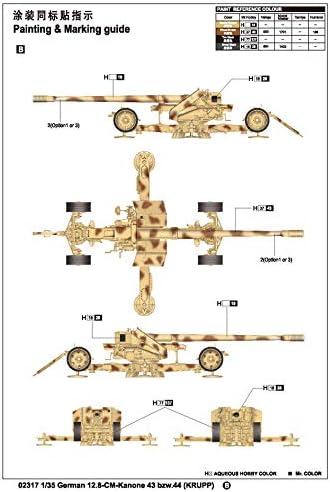 Various Trumpeter TRU02317 Model Kit