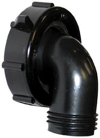 Valterra T01-0091VP 1-1/2' x 3/4' 90° Drain Connector (Quantity 4)