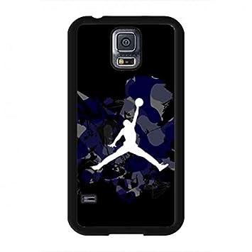 b4e7c7d9e69 Samsung Galaxy S5 Funda, Jordan Funda Nike Jordan Funda For Samsung Galaxy  S5: Amazon.es: Electrónica