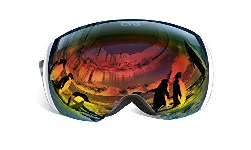 CRG Sports Goggles Frameless Goggles