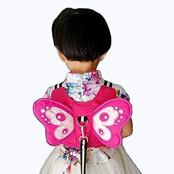 Toddler Baby Kids Angel Wings Safety Harness Belt Anti-lost Walking Strap Leash