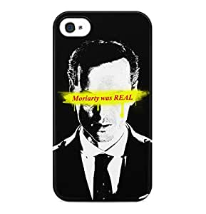 Sherlock Holmes Moriarty Was Real Richard Brook Baker Street Hard Plastic Phone Case Cover Shell For iPhone 4 & iPhone 4s