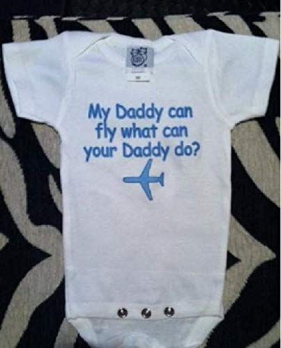 My Daddy can fly baby bodysuit Daddy pilot infant one piece