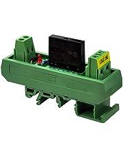 Electronics-Salon G3MB-202P - Módulo de interfaz de relé de estado sólido de 2 amperios (DC, 12 V, DIN)