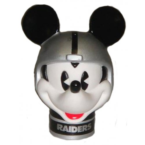 Collectible Mickey Mouse Raiders Car Antenna Topper + Yellow Smiley Antenna Ball Tenna Tops®