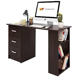 COMIFORT Mesa de Trabajo - Escritorio Robusto y Espacioso, Estilo ...