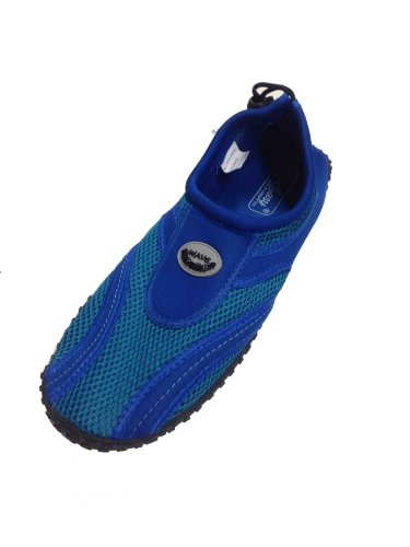 GEAR ONE SOURCE Men's Wave Water Shoes Pool Beach Aqua Socks, Yoga , Exercise