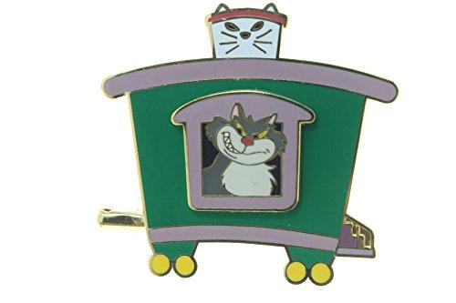 Disney LE 400 Cats Train Series - Lucifer Caboose Car Pin