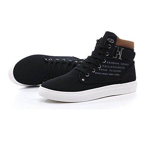 Hibote Hommes Hiver Chaussures Chaud Doublé Bottes Coton Sneakers Cheville Chaussures Casual Sport Chaussures de Course Chaussures Chaud Respirant 3 Couleurs 40 41 42 43 44 45 46 47