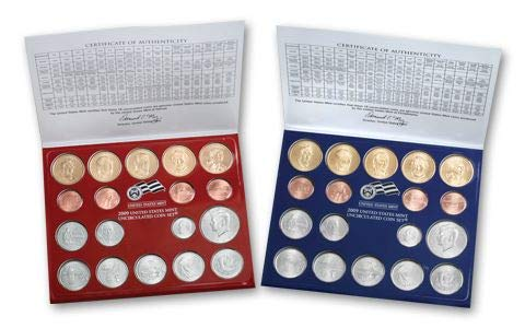 - 2009 Various Mint Marks Mint Set Uncirculated