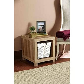 Better Homes And Gardens Accent Table (Weathered)