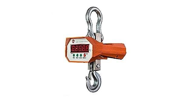 1000 kg (1 tonelada) Digital para colgar báscula de grúa electrónica Wirless Industrial Crane escala: Amazon.es: Hogar