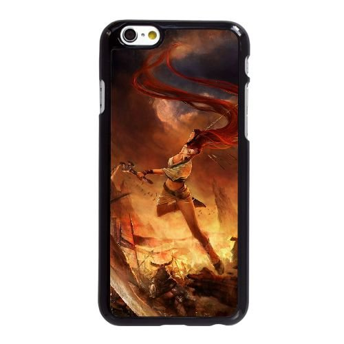 O7I30 Heavenly Sword U5N4RS coque iPhone 6 Plus de 5,5 pouces cas de couverture de téléphone portable coque noire DL2JFM5CM