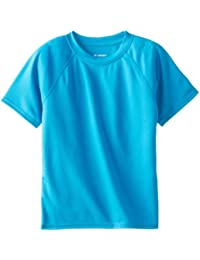Boys' Short-Sleeve Rashguard Swim Shirt