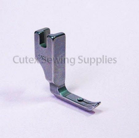 CUTEX SEWING Velvet Foot With Long Toe For Industrial Single Needle Sewing Machines #S531L