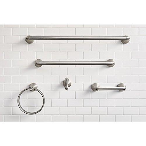 Moen MY6224BN Hamden 24 Single Towel Bar Spot Resist Brushed Nickel