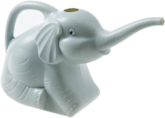 Regadera De Plástico para Niños, Diseño De Elefante, Boca Larga, Planta, Flor, Regadera, Plantas De Jardín, Aspersión,Decoración De Jardín (Color : Blue): Amazon.es: Hogar