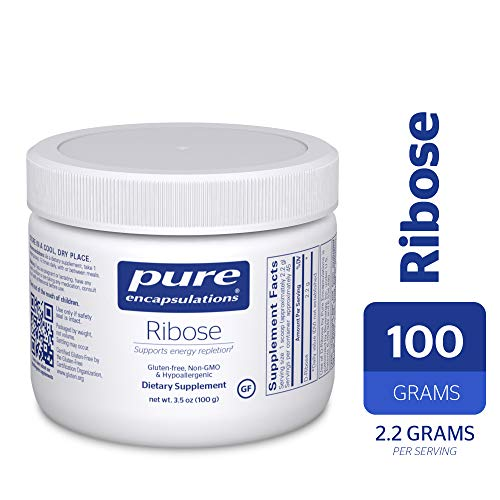 Pure Encapsulations - Ribose - Hypoallergenic Supplement with Rapid Energy Repletion for Intense Exercise - 100 Grams