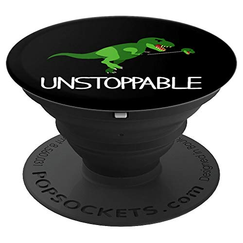 T-Rex Dinosaur Arms I Am Unstoppable Mobile Phone Accessory - PopSockets Grip and Stand for Phones and Tablets