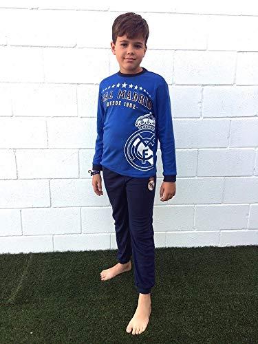 Pijama Coralina Invierno Niño Real Madrid Estrellas (10)
