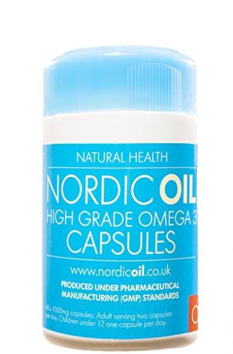 Nordic Oil Omega-3 Fischöl 1000mg Kapseln