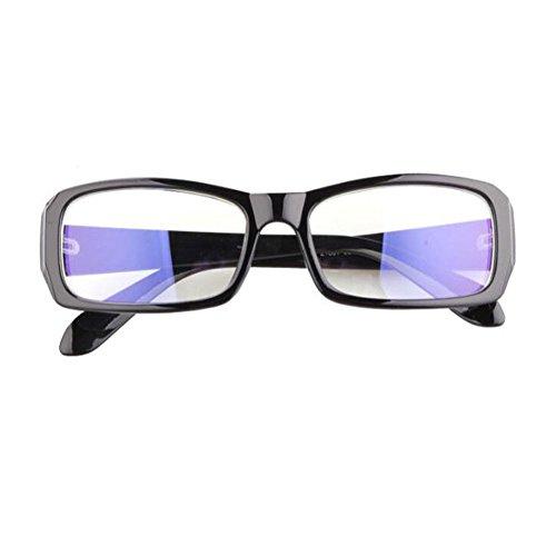 Claro Filtro azul Eyewear Lente UV400 luz Hombre Computadora Gafas Brillante Negro Previniendo ojos los Mujer fatiga Anti de Xinvision Moda qYxwpp