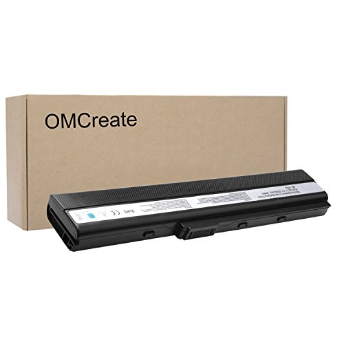 OMCreate Laptop Battery for ASUS A52F A52J A52 K52F K42 k42J K52 K52J K52JR K52JC, fits Asus K52L681 A31-K52 A32-K52 A41-K52 - 12 Months Warranty (Asus K52f K62f Battery)