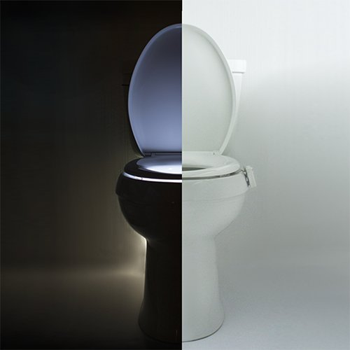 IllumiBowl Toilet Night Light NEW VERSION (As Seen On Shark Tank)
