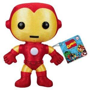 Funko 팬《고》 Classic Iron Man 아이언 맨 Plushie 봉제인형 인형 병행수입