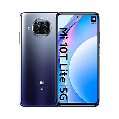Xiaomi Mi 10T Lite – Smartphone 6+64GB, 6,67? FHD+ DotDisplay, Snapdragon 750G, 64MP AI Quad Camera, 4820mAh, Alexa Hands-Free, Blu (Atlantic Blue)