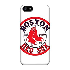 Best Hard Cell-phone Case For Iphone 5/5s (qjn776zile) Support Personal Customs Realistic Boston Red Sox Image