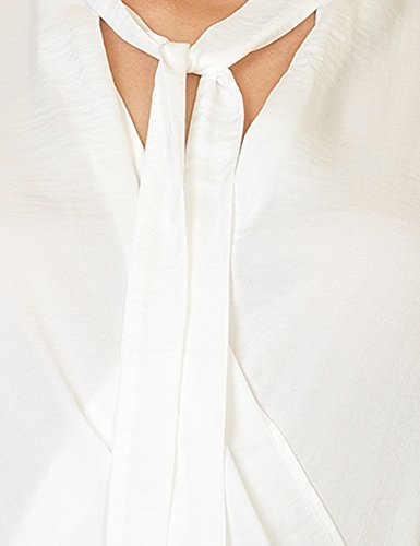 Soft Rebels Women's Rosa Women's Shirt In Off-White Color 100% Polyester Off-White