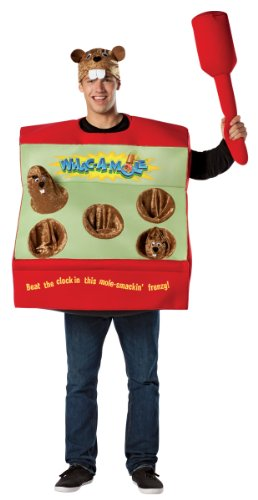 Adult Whac-A-Mole Arcade Game Costume -