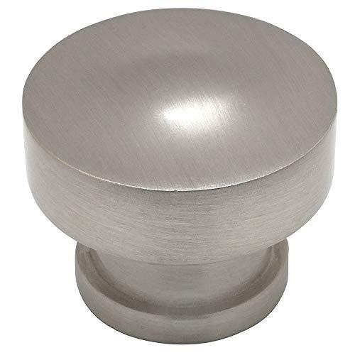 (10 Pack - Cosmas 704SN Satin Nickel Round Contemporary Cabinet Hardware Knob - 1-1/4