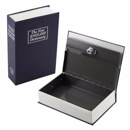Cofre Camuflado Formato Livro Porta Joias 2 chaves