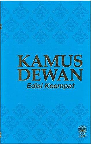 Kamus Dewan Dewan Bahasa Dan Pustaka 9789836283399 Amazon Com Books