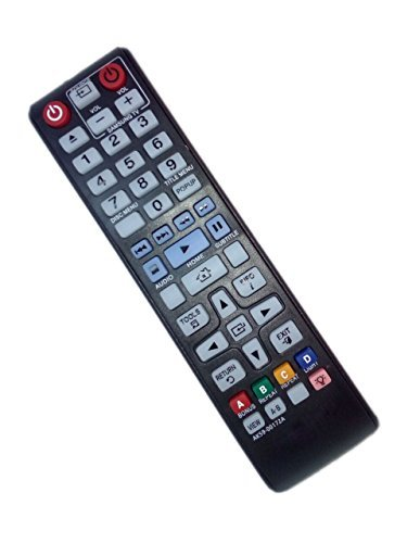 AK59-00172A Remote Control Replaced for Samsung BD-F5700 BDH