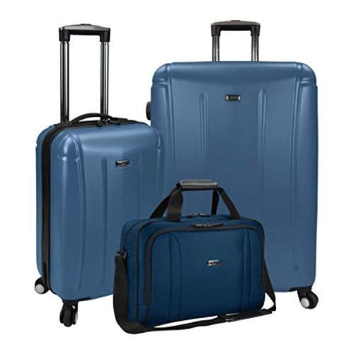 (USトラベラー) US Traveler メンズ バッグ スーツケースキャリーバッグ Hytop 3-Piece Spinner Luggage Set [並行輸入品] B07896V3QW