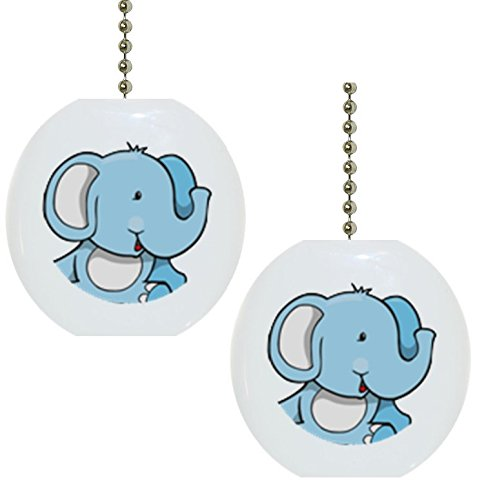 Elephant Ceiling Fan Pulls Kritters In The Mailbox