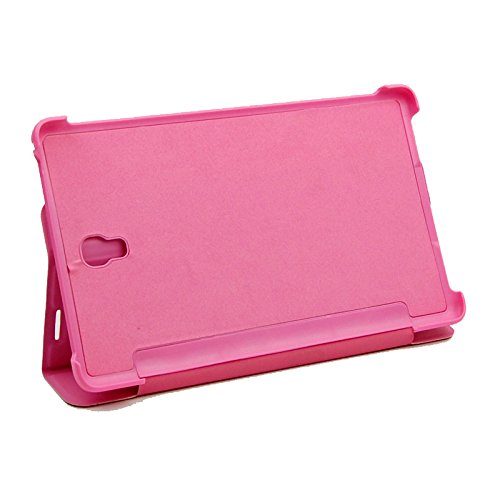 """Anpower® Leather Protective Folding Stand Book Case Cover Stand for Samsung Galaxy Tab S 8.4"""" T700 T705 (Pink)"""
