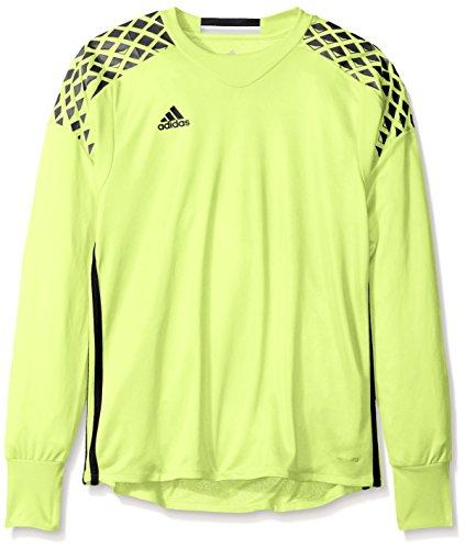 adidas Kids Unisex Onore 16 Goalkeeping Jersey (Little Kids/Big Kids) Solar Yellow/Black MD (10-12 Big Kids)