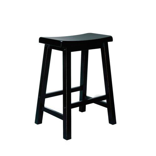 (Powell's Furniture 502-430 Sand Through Terra Cotta Counter Stool, 24