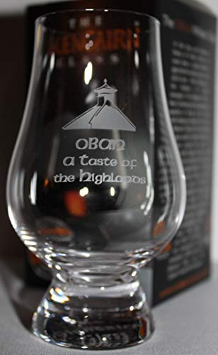 OBAN PAGODA TOP GLENCAIRN SINGLE MALT SCOTCH WHISKY TASTING GLASS