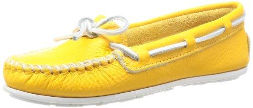 Mocassin Boat Mocassin Women's Minnetonka Yellow Minnetonka Women's Boat Yellow Bg7nn