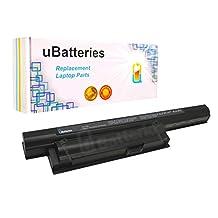 UBatteries Laptop Battery Sony VAIO VPCEB3L1E/BQ - 6 Cell, 5200mAh, Samsung 2.6A Cells - UBMax Series