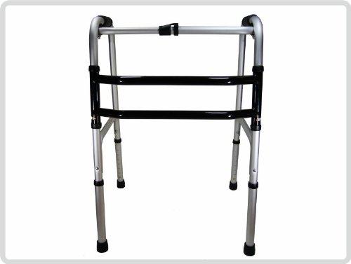 Gehgestell, Gehbock, Gehhilfe, Stehhilfe, faltbar, starr, höhenverstellbar aus Aluminium*Top-Qualität zum Top-Preis*