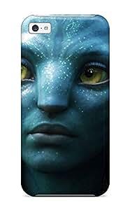 DPatrick Iphone 5c Well-designed Hard Case Cover Zoe Saldana As Neytiri In Avatar Protector